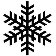 236x236 Snowflake Silhouettes Snowflakes Silhouette Vinyl Ideas Images