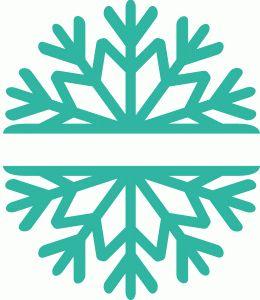 260x300 489 Best Snowflake Silhouettes, Vectors, Clipart, Svg, Templates