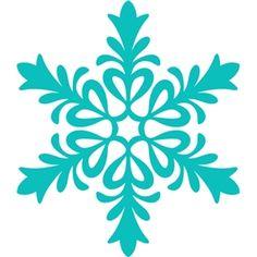 236x236 Free Snowflake Digital Cut Files Sillouette Filing