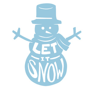 300x300 List Of Synonyms And Antonyms Of The Word Snowman Silhouette