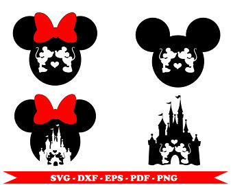 340x270 Mickey And Castle Clip Art