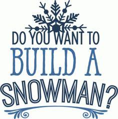 236x239 Do You Want To Build A Snowman Clipart