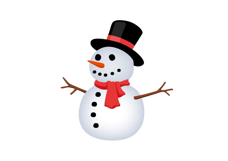 snowman silhouette vector at getdrawings com free for personal use rh getdrawings com snowman vector art snowman vector free