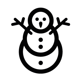 snowman silhouette vector at getdrawings com free for personal use rh getdrawings com