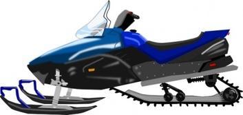 353x167 Snowmobile Silhouette Clip Art