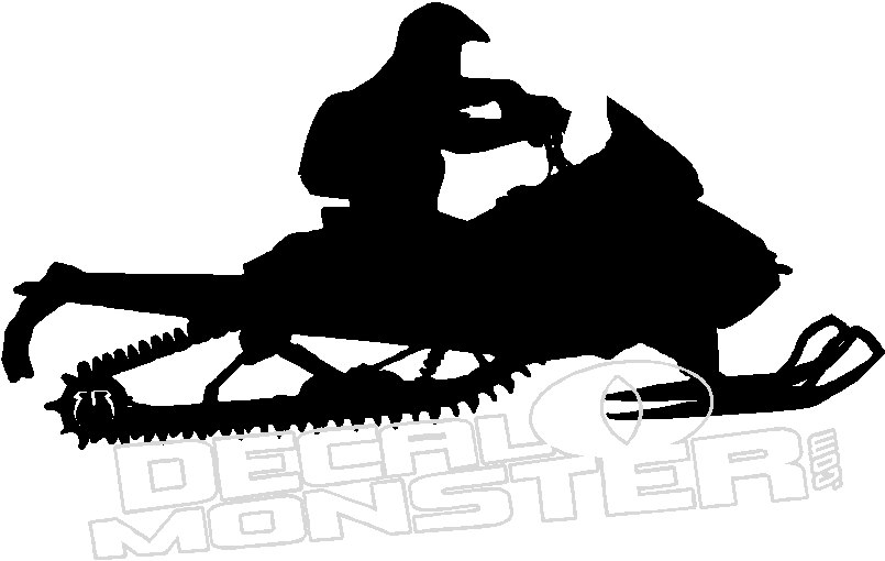 805x510 Sled Lake Ditch Wall Decal Dm
