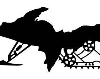 340x270 Sled Decal Etsy