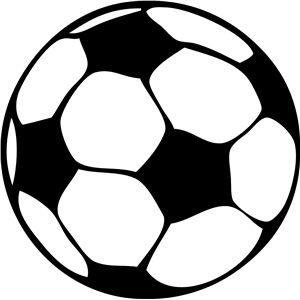 300x300 Soccer Ball Soccer Ball, Silhouette Design And Silhouettes