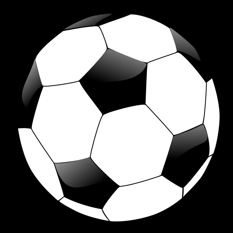 958x958 Public Domain Clip Art Image Illustration Of A Soccer Ball Id