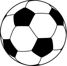235x234 Soccer Ball Template For Thank You Card! Soccer