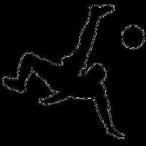 Soccer Girl Silhouette Clip Art