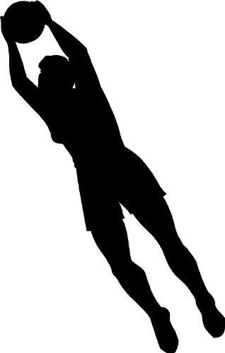 Soccer Goalie Silhouette