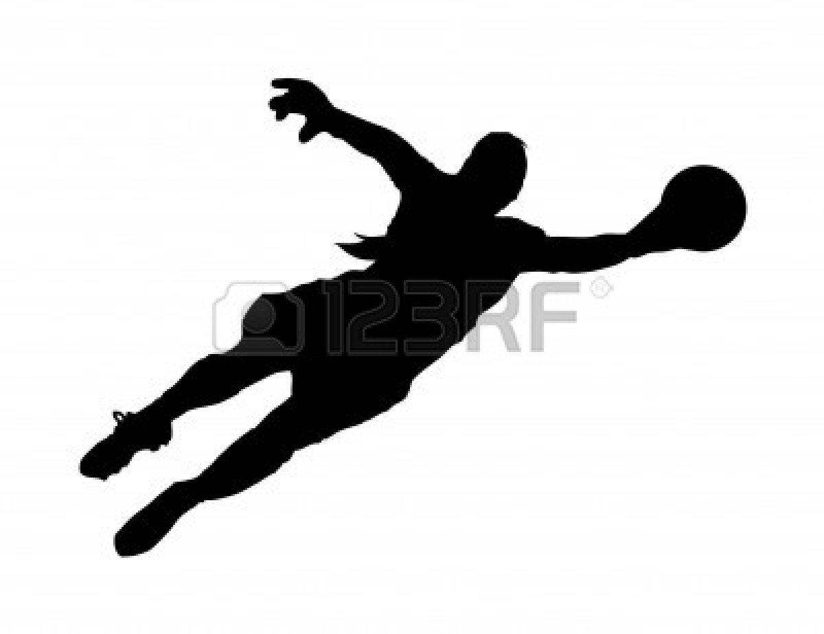 1200x924 Soccer Goalie Silhouette Clipart Panda