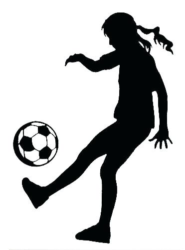 371x500 Soccer Silhouette Football Player Dribbling Clip Art Playing