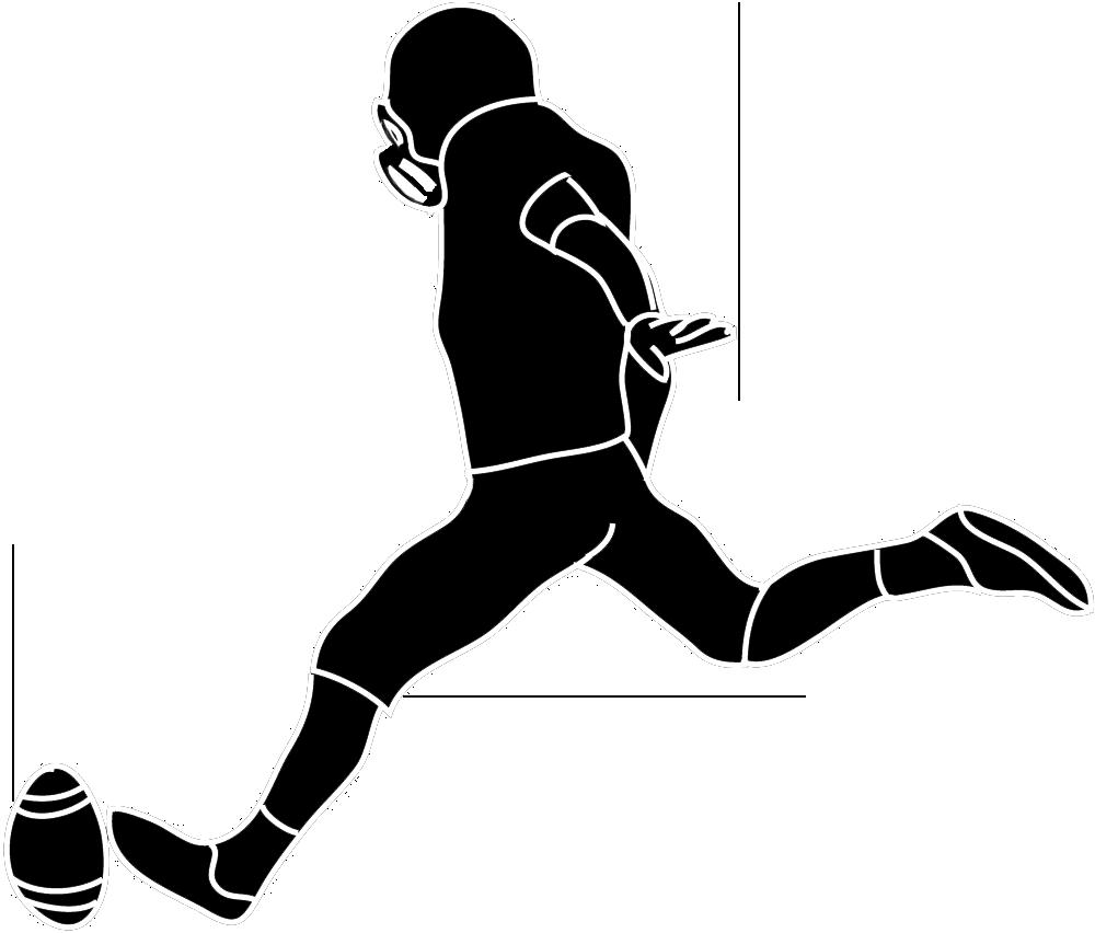 1000x852 Soccer Clipart Kicker