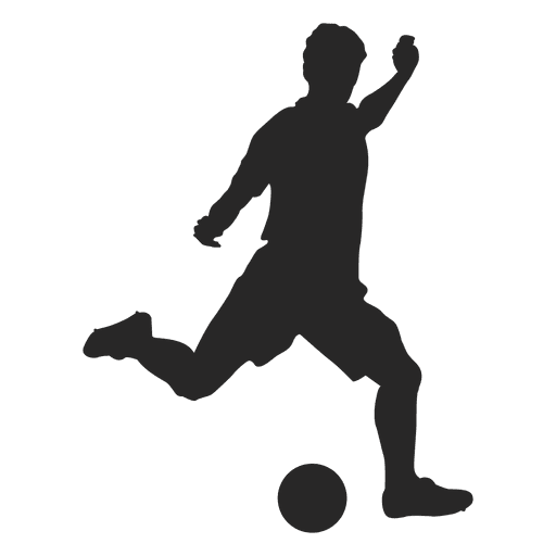 soccer player silhouette free vector at getdrawings com free for rh getdrawings com soccer player vector png soccer player vector art
