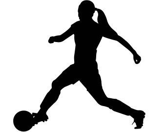 340x270 Girls Soccer Clipart Etsy