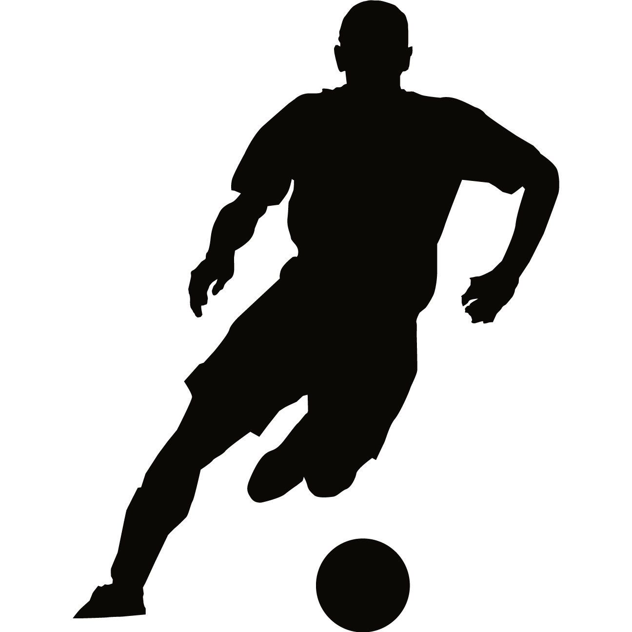 soccer silhouette at getdrawings com free for personal soccer player clip art silhouettes soccer player clip art black and white