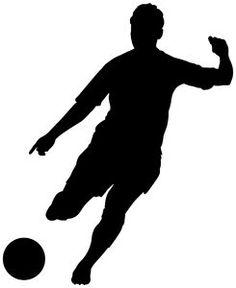 236x288 Kicking Soccer Ball Silhouette Clipart Panda