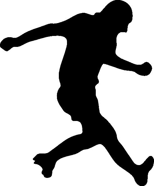 492x595 Soccer Player Silhouette Clip Art