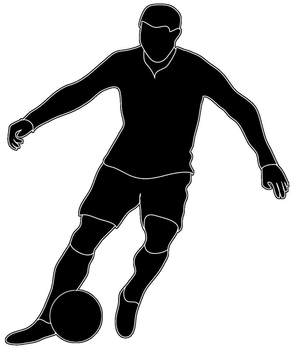 999x1181 Football Player Silhouette Transparent Png Clip Art Image Gallery
