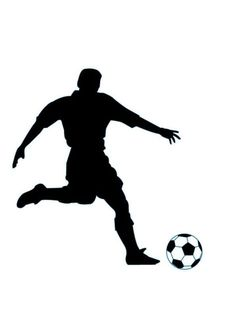 Soccer Silhouette Images