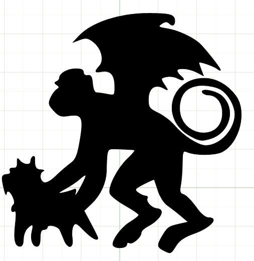 507x521 Wizard Of Oz Silhouettes This Is The Shilloutte I Used For My