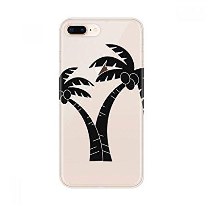 425x425 Coconut Tree Plant Beach Silhouette Apple Iphone 87