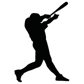 283x283 Batter Silhouettes Silhouettes Of Batter Free