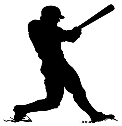 softball batter silhouette at getdrawings com free for personal rh getdrawings com
