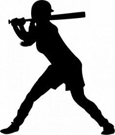 softball batter silhouette at getdrawings com free for personal rh getdrawings com softball player silhouette clipart female softball player clipart