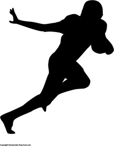 235x301 Football Player Silhouette Svgs Football Players