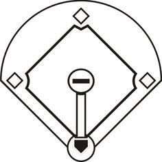 236x236 Free Printable Softball Silhouette Clip Art Download