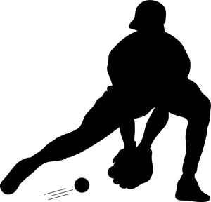 300x288 Softball Batter Clipart