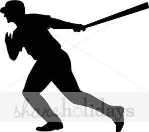 300x266 Baseball Player Silhouette Clipart Party Clipart Amp Backgrounds