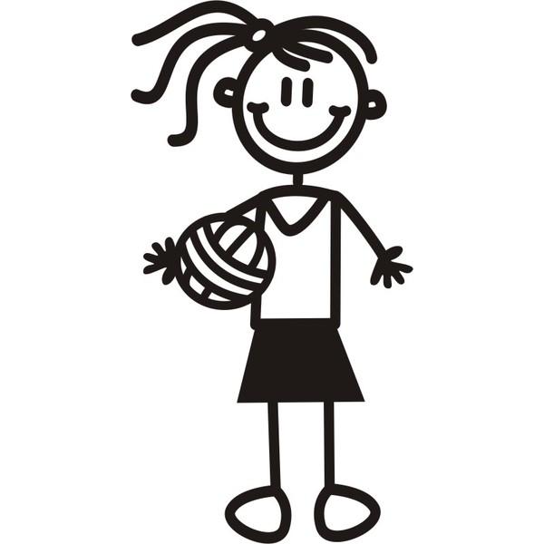 600x600 Girls Softball Catcher Silhouette Clipart Cliparthut