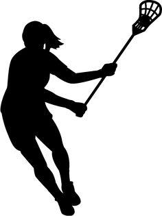 236x315 Girl Lacrosse Silhouette Girls Lacrosse, Lacrosse And Hockey