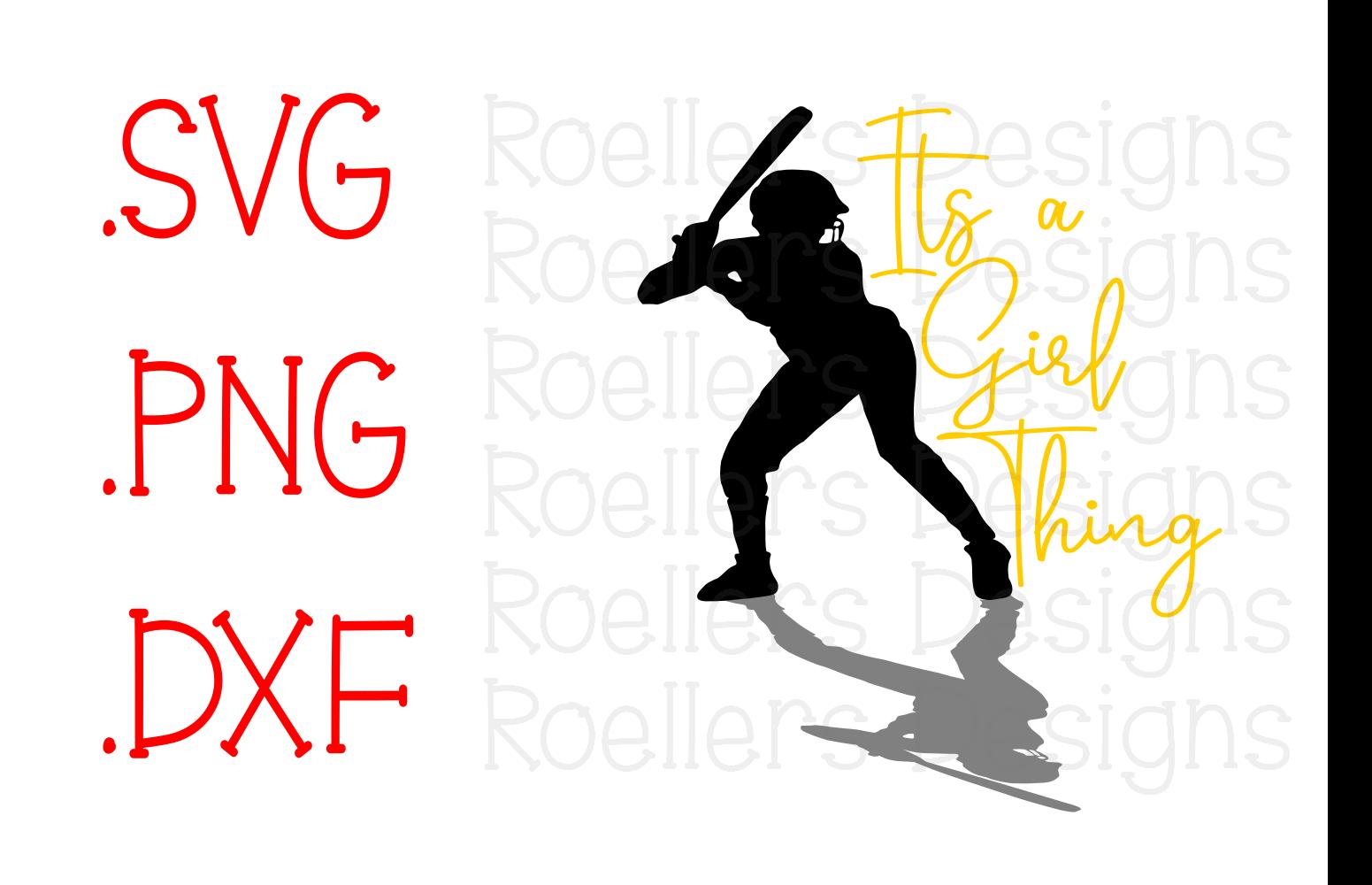 1551x1000 Its A Girl Thing, Softball Svg, Spring Design Bundles