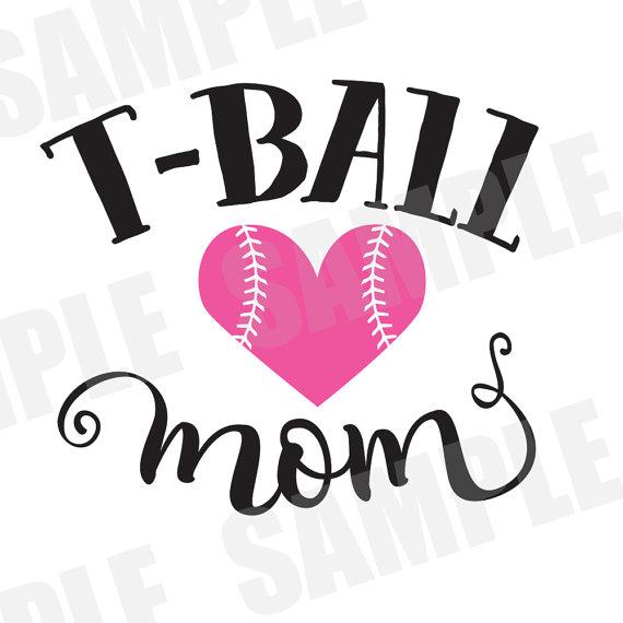 570x570 Svg Commercialpersonal Use Softball Baseball T Ball Mom