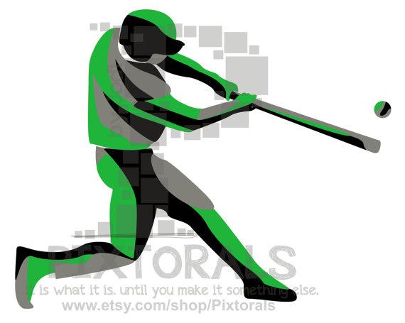 570x455 Baseball Softball Batter Clipart! Png (Transparent Backgrounds