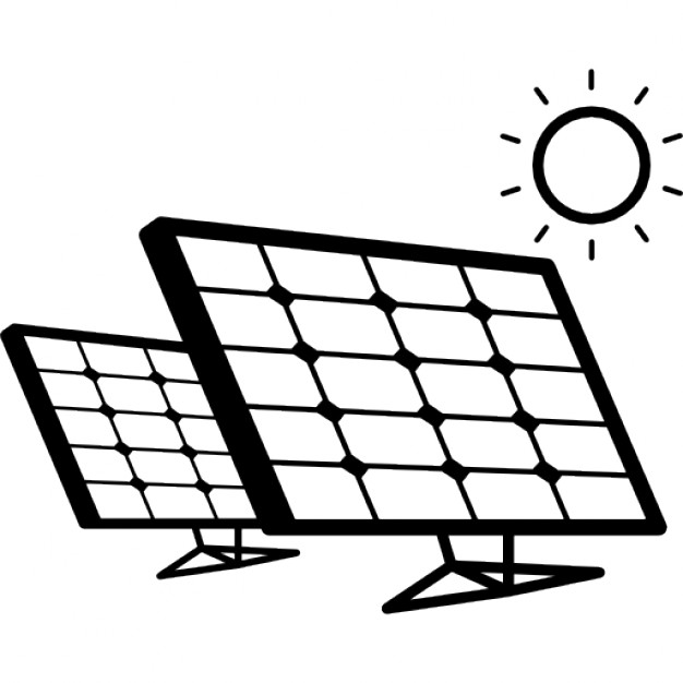 626x626 Solar Panels Couple In Sunlight Icons Free Download
