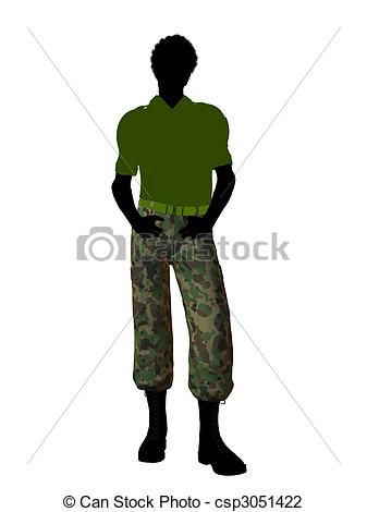 Soldier Clipart Silhouette