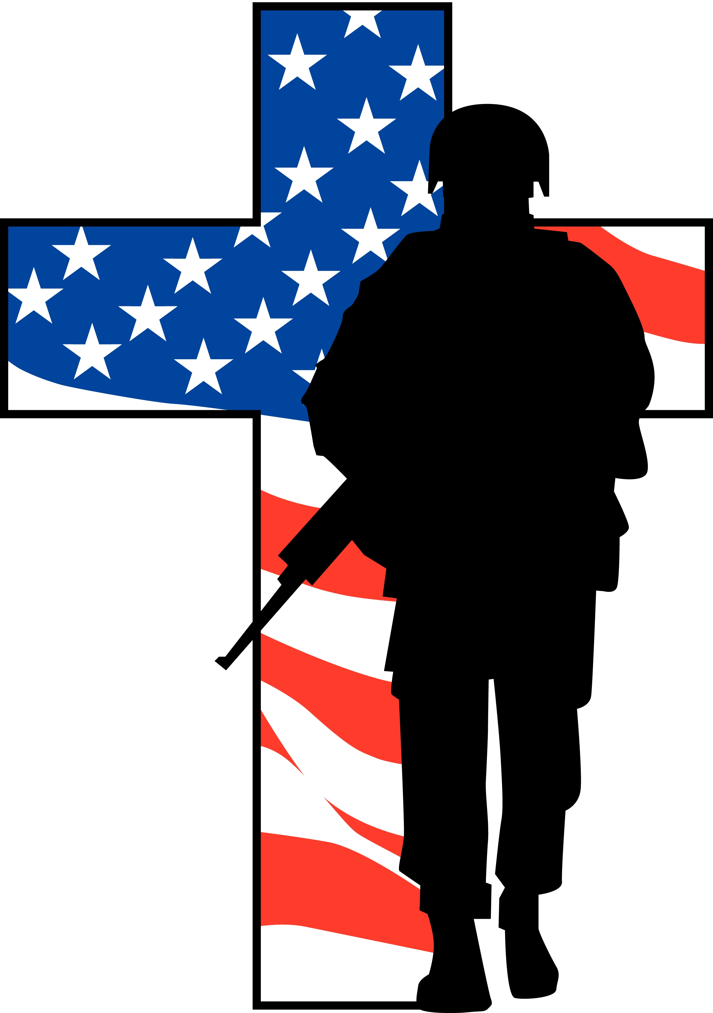 2325x3300 Remembrance Day Soldier Clipart