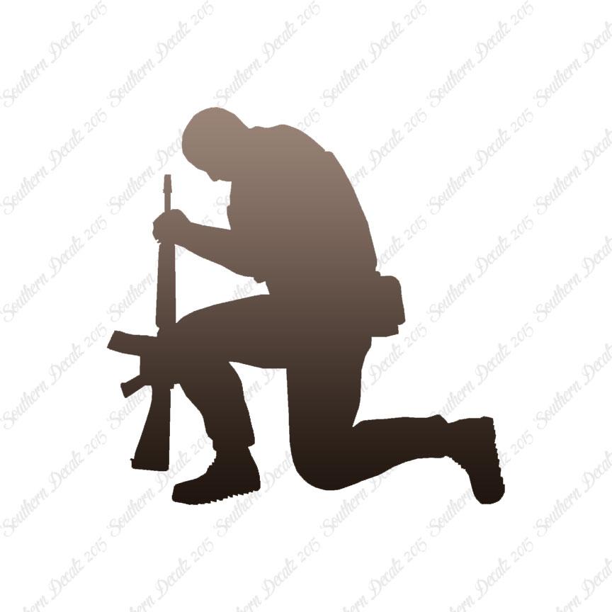 864x864 Soldier Kneeling Prayer