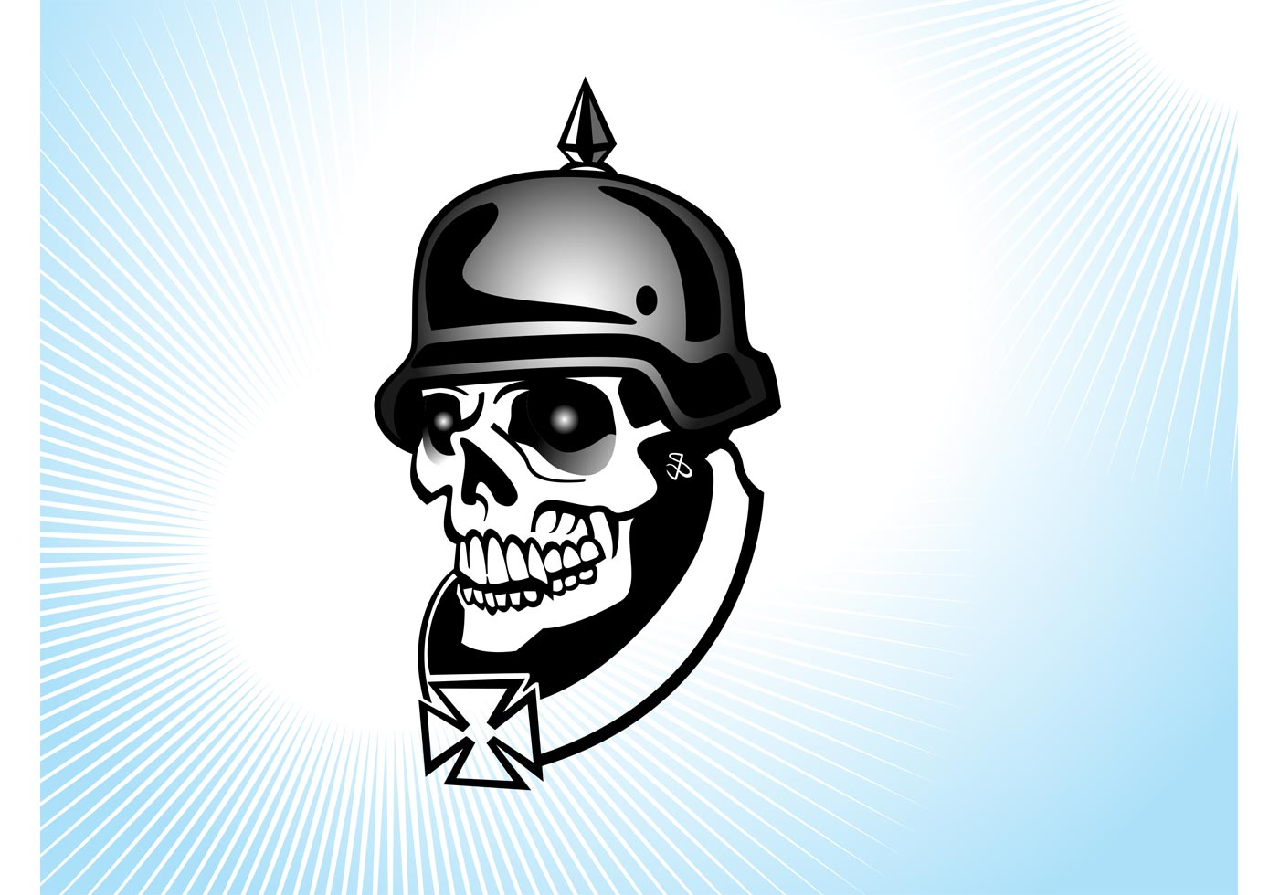 1400x980 Soldier Silhouette Free Vector Art
