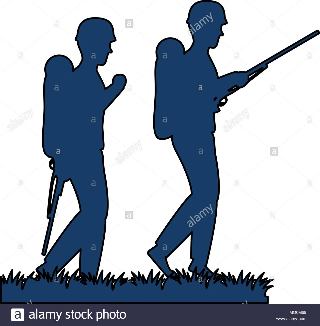1300x1322 The Vector Soldiers Silhouettes Stock Photos Amp The Vector Soldiers