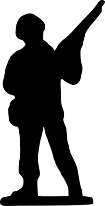 218x425 Toy Soldier Clip Art Vector, Free Vector Images