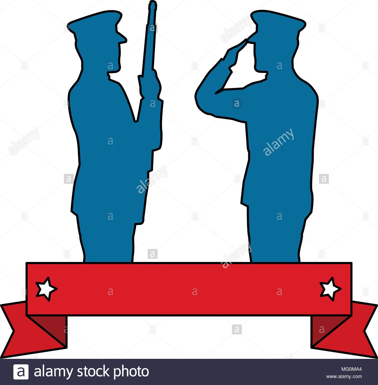 1300x1324 Silhouette Of Military Saluting And Soldier Vector Illustration