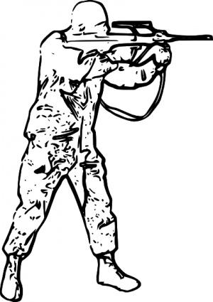 300x425 Soldier Silhouette Clip Art Vector, Free Vectors
