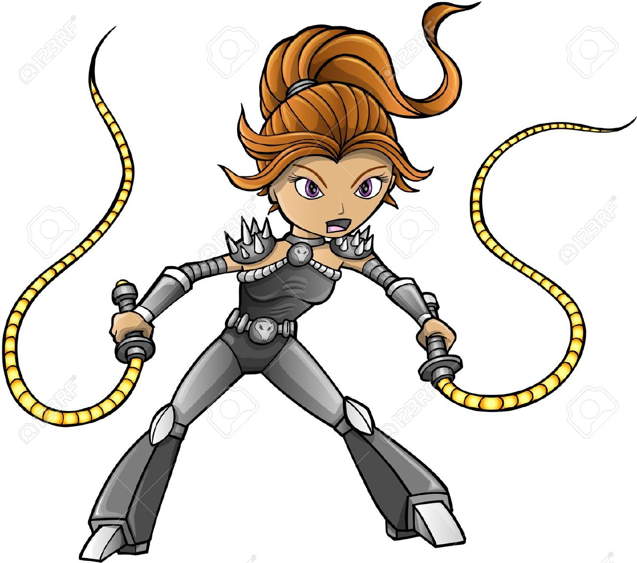 1300x1149 Girl With Whip Clipart